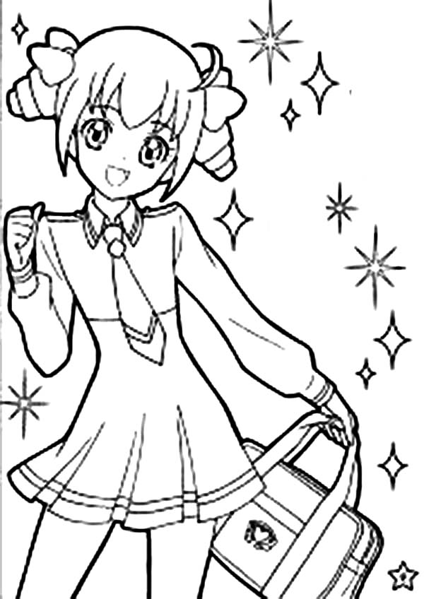 Free Coloring Pages Of Anime Cute Girls Coloring Pages Of Anime Characters