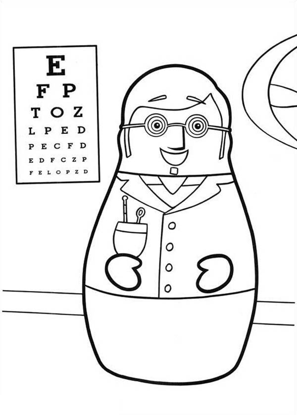 higglytown heroes coloring pages higglytown heroes the eye doctor hero coloring page