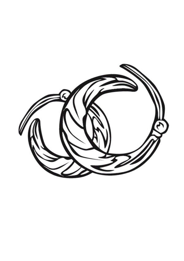 Bracelet free coloring pages for Jewelry coloring pages