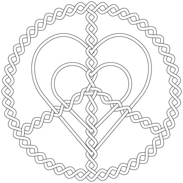 Silver love and peace jewelry coloring page coloring sky for Jewelry coloring pages